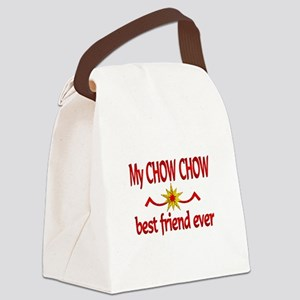 Chow Chow Best Friend Canvas Lunch Bag