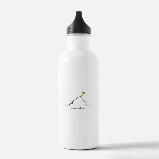 Yoga Exhale Water Bottle