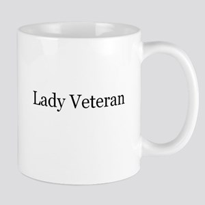 Lady Veteran Design Mug