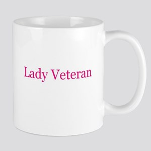 Lady Veteran in Pink! Mug
