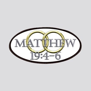 Matthew 19:4-6 Patches