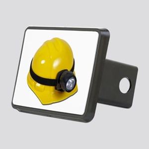 HardHatWithLamp102811 Rectangular Hitch Cover