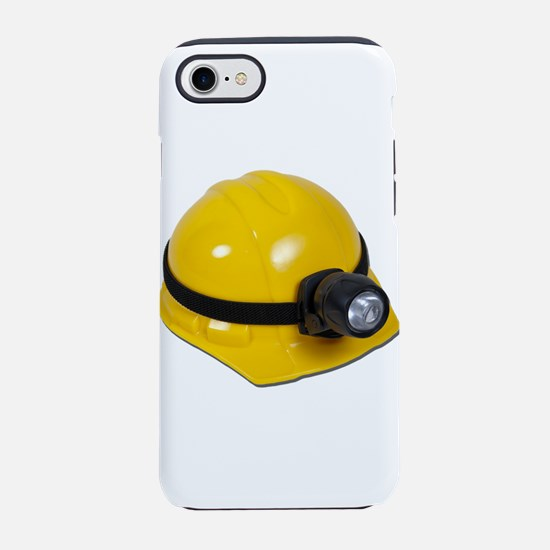 HardHatWithLamp102811.png iPhone 7 Tough Case