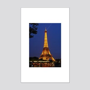 Paris Eiffel Tower Mini Poster Print