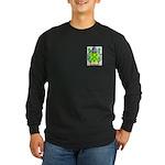 Blew Long Sleeve Dark T-Shirt