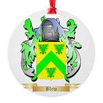 Blew Round Ornament