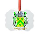 Blew Picture Ornament