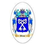 Bless Sticker (Oval 50 pk)