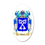 Bless 20x12 Oval Wall Decal