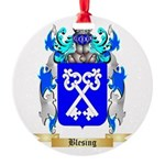 Blesing Round Ornament