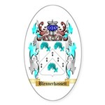 Blennerhassett Sticker (Oval 50 pk)