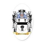 Blenkinsop Oval Car Magnet