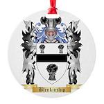 Blenkinship Round Ornament