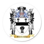 Blenkinship Round Car Magnet