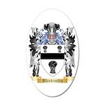 Blenkinship 35x21 Oval Wall Decal