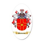Blenkarne Oval Car Magnet