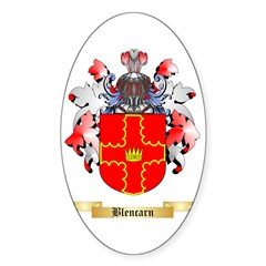 Blencarn Sticker (Oval)
