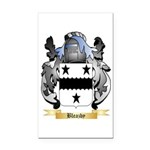 Bleazby Rectangle Car Magnet