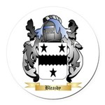 Bleazby Round Car Magnet