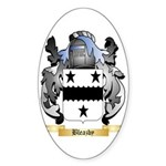 Bleazby Sticker (Oval)