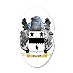 Bleazby 20x12 Oval Wall Decal