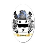 Bleazby 35x21 Oval Wall Decal