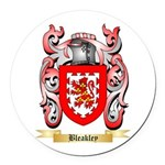 Bleakley Round Car Magnet