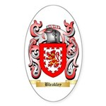 Bleakley Sticker (Oval 10 pk)