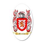 Bleakley 35x21 Oval Wall Decal
