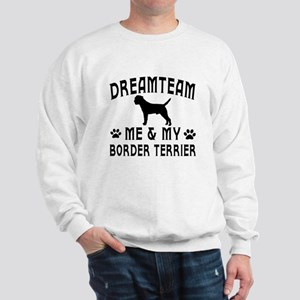 Border Terrier Dog Designs Sweatshirt
