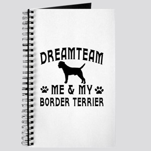 Border Terrier Dog Designs Journal