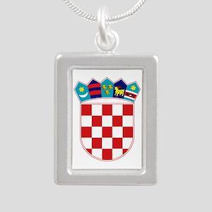 Croatia Hrvatska Emblem Necklaces