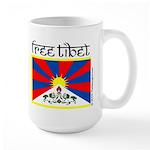 free_tibet_mug Mugs