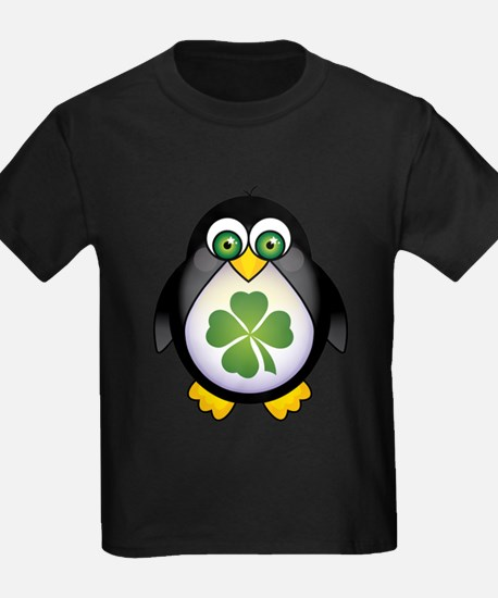 Green Irish Penguin T-Shirt