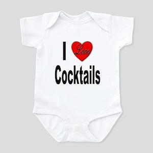 I Love Cocktails Infant Bodysuit