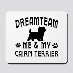 Cairn Terrier Dog Designs Mousepad