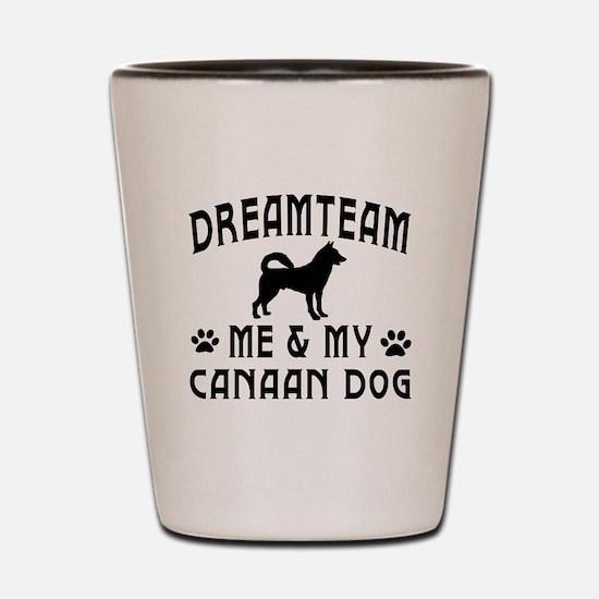 Canaan Dog Designs Shot Glass