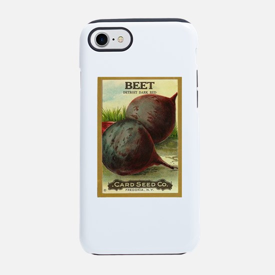Detroit Dark Red Beets iPhone 7 Tough Case