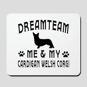 Cardigan Welsh Corgi Dog Designs Mousepad