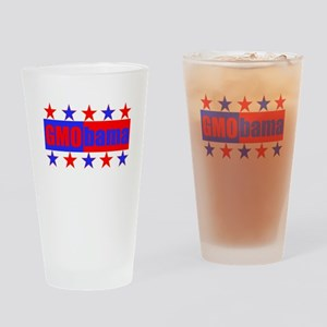 GMOBAMA Drinking Glass