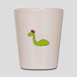 Loch Ness Monster Shot Glass