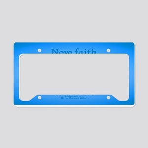 Hebrews 11 1 Scripture License Plate Holder