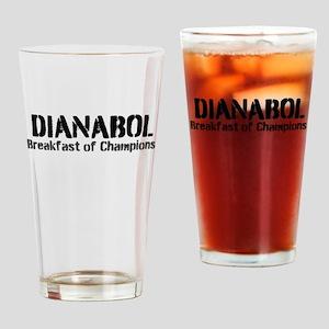 Dianabol Breakfast of Champions Drinking Glass