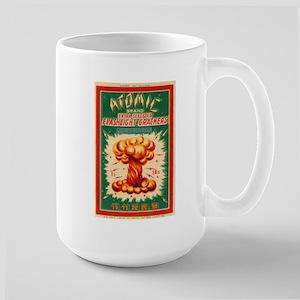 Atomic Bran Chinese Firecracker Label Mug