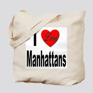 I Love Manhattans Tote Bag