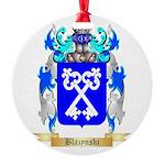 Blazynski Round Ornament