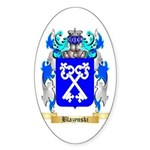 Blazynski Sticker (Oval 10 pk)