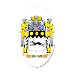Blaxhall Oval Car Magnet