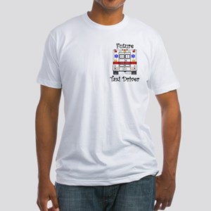 Future Taxi Driver Fitted T-Shirt