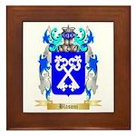 Blasoni Framed Tile